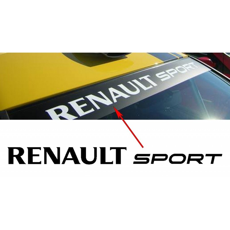 Pare soleil Renault Sport