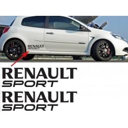 2 Stickers Renault Sport