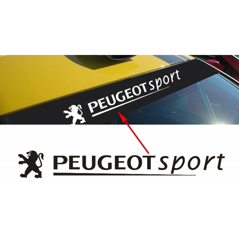 pare soleil peugeot sport. Black Bedroom Furniture Sets. Home Design Ideas