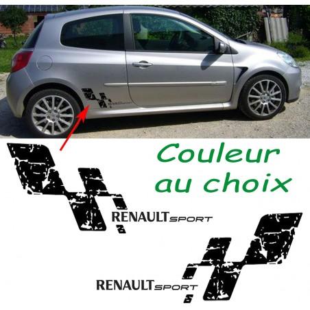 Kit Bas de caisse Damier Renault Sport Destructuré