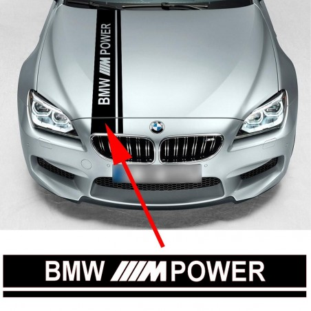 Bande Capot BMW M Power