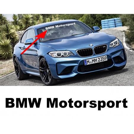 Pare soleil BMW Motorsport