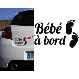 Bébé à Bord Petits pieds