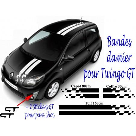 Bandes Damier Twingo GT