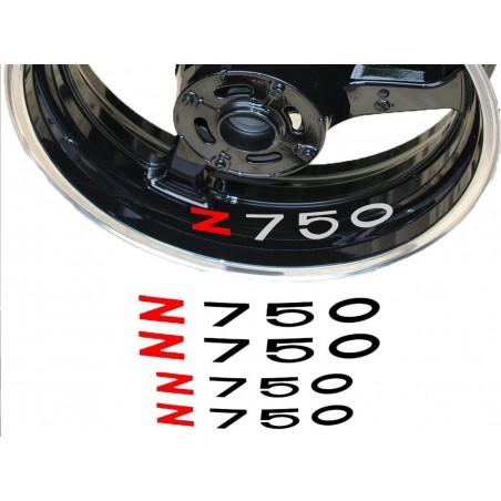 Stickers de Jantes Z750