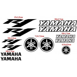 13 Stickers pour Yamaha YZF R1