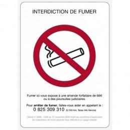 Interdiction de fumer