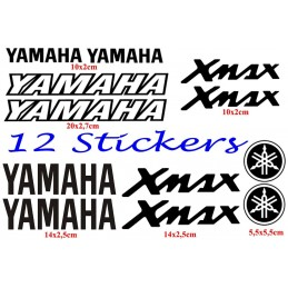 12 Stickers pour Yamaha X-Max