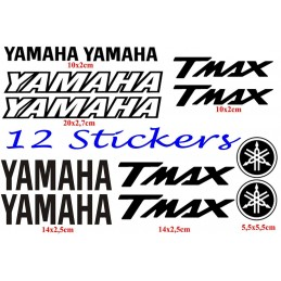 12 Stickers pour Yamaha T-Max