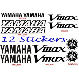 12 Stickers pour Yamaha V-Max