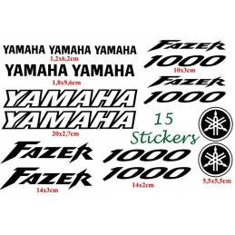 15 Stickers pour Yamaha...