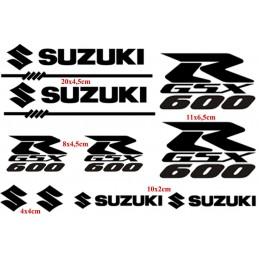 10 Stickers pour Suzuki...