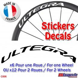 Autocollants roues Ultegra