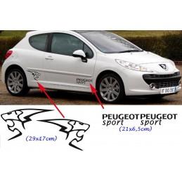 Bas de caisse Peugeot Sport