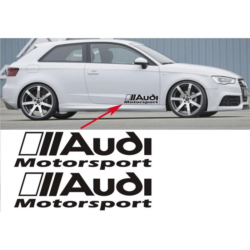 couleur orange Autocollant Frein Audi Motosport stickers étriers